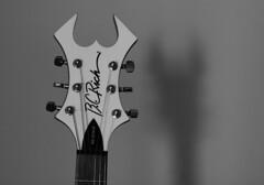 Shadowy, Horned Figure (Hidden Creator) Tags: bcrich warlock guitar warlockrevenge bw