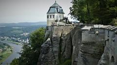 Königstein Fortress (marcostetter) Tags: königstein travel reise sachsen saxony elbe fortress
