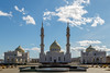 White Mosque (skboris) Tags: architecture bulgar islam minaret mosque religion republic sky tatarstan white