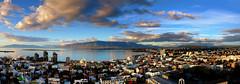 Reykjavík (Dan Haug) Tags: reykjavik panoramic iceland landscape wide august 2017 vacation xf1655mmf28rlmwr fujifilm xt2 xf1655 hallgrímskirkja reykjavík