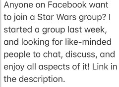 Star Wars: Beyond The Outer Rim group (njgiants73) Tags: awakens force last one rogue sith revenge clones attack menace phantom jedi return hope new back strikes empire group facebook rim outer beyond lego wars star