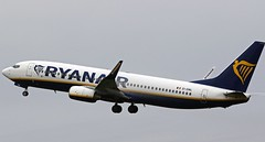 EI-DWL RYANAIR BOEING 737 NEWCASTLE  . (toowoomba surfer) Tags: airline airliner jet aeroplane aviation aircraft ncl egnt