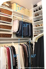 Check out this tutorial on how to create your perfect closet. (Home Decor and Fashion) Tags: check closet create how out perfect this tutorial your