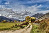 Cartolina dall'Abruzzo - Postcard from Abruzzo (Pablos55) Tags: paesaggio landscape campagna countryside cielo clouds nuvole sky