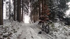 Heuberg im Schnee (twinni) Tags: mw1504 03122017 bike biketour salzburg austria östereich winter schnee heuberg winterradl 20 winterbike bergziege