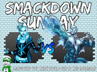 Smackdown Sunday- Killer Frost VS Blizzard