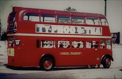London transport 2RT2 on training duties Chiswick works. (Ledlon89) Tags: rtbus aecregent chiswickworks lt lte lptb londonbus londonbuses bus buses london vintagebuses
