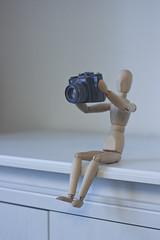 Cheese! (Juraj Vancik) Tags: zenit gestalta ikea minimalism surrealism retrocamera oldcamera wooden white canon photoshop edit