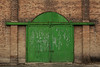 Green Doors (Al Stewart Photography) Tags: dunedin portchalmers green doors greendoors brick