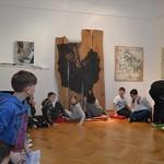 Schulführung in der Galerie - 2017