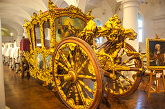 Your carriage awaites (Tony Shertila) Tags: 20170827101128 germany nymphenburgpalace schlossnymphenburg wittelsbach architecture baroque bavaria building canal cariage clouds estate europe fountain gardens indoor lake marstallmuseum munchen munich palace sky woodland münchen bayern museum carriage gilded transport regal princely coach deu