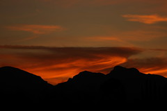 Sunset 10 15 17 #19 (Az Skies Photography) Tags: sun set sunset dusk twilight nightfall sky skyline skyscape cloud clouds red orange yellow gold golden salmon black 101517 10152017 rio rico arizona az riorico rioricoaz arizonasky arizonaskyline arizonaskyscape arizonasunset canon eos 80d canoneos80d eos80d canon80d