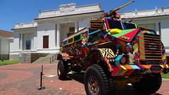 CAPE TOWN, SOUTH AFRICA (pwitterholt) Tags: colour colours color colors kleur kleuren capetown kaapstad southafrica zuidafrika zuidelijkhalfrond voertuig vehicle izikosouthafricannationalgallery iziko degardens sony sonycybershot sonyhx400