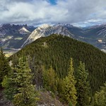 Hillsides, a Valley and Mountain Peaks (Banff National Park) thumbnail