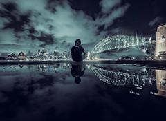 polska in australia (bart.kwasnicki) Tags: poland australia cityscape cityview sydney reflection panorama nightscape night sky skyscraper