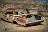 2017_03_09 Rhyolite, NVTZ_36 (Walt Barnes) Tags: chevrolet car auto automotive rusty rust canon eos 60d eos60d canoneos60d wdbones99 topazsoftware rhyolite ruins decayed desert ghosttown nevada