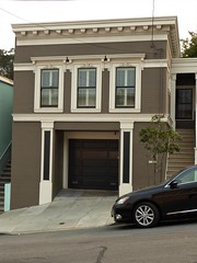 San Francisco, CA, Noe Valley, (Mary Warren 13.5+ Million Views) Tags: sanfranciscoca noevalley architecture building house residence victorian brown stairs