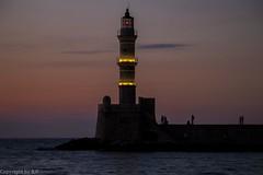 Kreta 2017 (hibf_2004) Tags: alleskreta kreta2017 kreta crete kriti chania leuchtturm nachtaufnahme hibf2004 canon canoneos70d lightroom urlaub vacation holiday urlaub2017 griechenland greece sonnenuntergang meer ozean wasser blauestunde dämmerung lighthouse