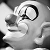 Clown Doctor (Thomas Hawk) Tags: california eastbay elcerrito playland playlandnotatthebeach usa unitedstates unitedstatesofamerica bw clown fav10 fav25