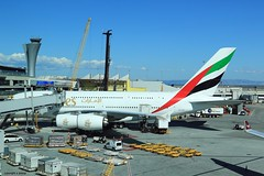 J78A1770 A6-EOF Emirates Airbus A380 (M0JRA) Tags: san francisco airport people tower planes a6eof emirates airbus a380 airports flying sfo jets runways aircraft