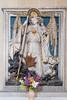 Saint Michael (Nick in exsilio) Tags: erfurt thuringia severikirche polychrome wood gothic michael archangel devil