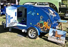 Custom Trailer (*SIN CITY*) Tags: custom trailer transport queensland australia qld 7d canon custompaint carshow camper paint art street goldcoast holiday kool vehicle
