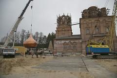 18. Поднятие куполов 04.04.2014