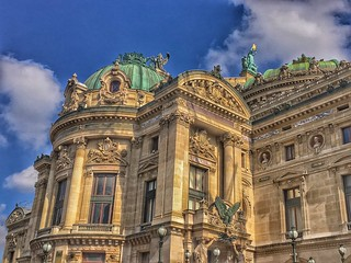 Paris France  - The Opera Garnier National Academy of Music - Historic Building