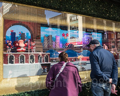 "2017 Holiday Window Display ""The Perfect Gift Brings People Together"" at Macy's Herald Square, New York City (jag9889) Tags: 2017 2017holidaywindowdisplay 20171127 34thstreet architecture boat bridge bridges bruecke brücke building christmas crossing departmentstore display gift heraldsquare holiday house infrastructure macy macys manhattan midtown mouse ny nyc newyork newyorkcity ornaments outdoor people pont ponte puente punt reflection retail santaclaus ship sign span storewindow structure subway text usa unitedstates unitedstatesofamerica vessel window jag9889"