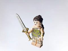 I'm ready for the war of love (Repost for better photo) (Bel's Minifigure) Tags: premium lego custom minifigure wonder woman dc superhero gal gadot