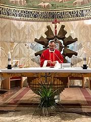 11 - Szentmise a Nemzetek templomában / Svätá omša v Bazilike Agónie