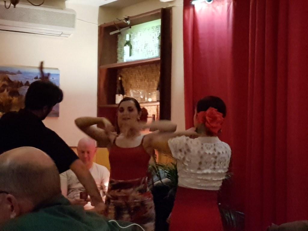 Spanish milf dance