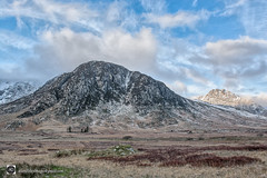 Foel Goch (possibly) (alundisleyimages@gmail.com) Tags: glyderaurange snowdonia mountains range landscape sky weather winter cold thebritishcountryside hillwalking mountainclimbing outdoorpersuits thegreatoutdoors baren isolation wilderness peaks summits glyders tryfan wales cwymru