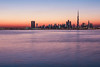 Dubai skyline in sunset (Eva Janku) Tags: dubai skyline sunset burj khalifa