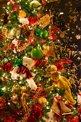 Christmas texture. Colorful ornaments made of balls and teddy bears and toys (uniqfaces) Tags: christmas texture glitter teddy bear ball multicolored illuminated macro lights background treedecoration gift sparkle gold star silver festive seasonal tree selectivefocus focus season greeting ornament bokeh holiday shine shinnyeve evening light closeup abstract celebration eve large winter copyspace santa rockinghorse shiny christmaslights green xmas blue golden decor branch nature water wood leaves landscape leaf rock trees woods