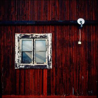Wooden Houses - Fuji Provia 100F
