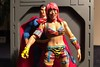 1073-342 No One is Ready for Asuka (misterperturbed) Tags: asuka wwe mattel superman mezco one12 collective mezcoone12collective jla justiceleagueofamerica dccomics