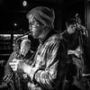 Trio (tim.perdue) Tags: trio music three jazz band ensemble dicks den columbus ohio sax alto saxophone bass piano black white bw monochrome people
