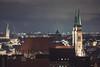 Nuremberg View from the Castle (helluvastar) Tags: tags hinzufügen nürnberg nuremberg nuernberg franken franconia bavaria bayern germany deutschland 1685mm nikon evening twilight dämmerung abend pegnitz river flus