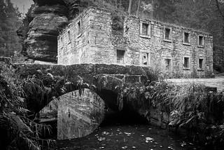 Dolsky mlyn, Ceske Svycarsko