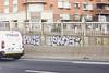 Polis Pekos (lanciendugaz) Tags: graffiti graff paris spray spraycan autoroute a4 vandalisme vandal chrome couleur lettrage roulo hauteur block crew tags tag taggeurs graffeurs negatif spot