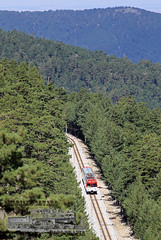 Métrico (Mariano Alvaro) Tags: 442 005 renfe cercanias tren trenes ancho metrico pinos arboles sierra navacerrada cotos madrid montañas
