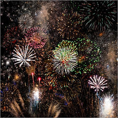 Fireworks Display (mikeyp2000) Tags: bonfirenight november guyfawkes display 5th montage fireworks