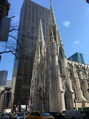 Cathédrale St Patrick NYC 2016 (Corinne Wunenburger) Tags: newyork cathedrale
