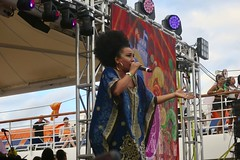 "Let me introduce you to Aymeé Nuviola, a great Cuban singer that also represented Celia Cruz in a telenovela.  ADC Aventura Dance Cruise. Miami, USA  November 2017 #itravelanddance • <a style=""font-size:0.8em;"" href=""http://www.flickr.com/photos/147943715@N05/38183229746/"" target=""_blank"">View on Flickr</a>"