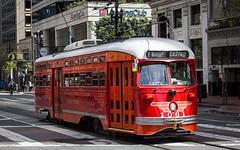 (seua_yai) Tags: sanfrancisco california street sanfrancisco2017 seuayai hustoricstreetcar trolley tram muni publictransit mobility