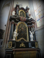 Inside St. Barbara's #26 (jimsawthat) Tags: interior architecture architecturaldetails church smalltown kutnahora czechrepublic