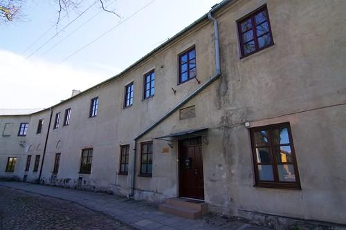 Zabudowania dawnego klasztoru norbertanek w Łęczycy