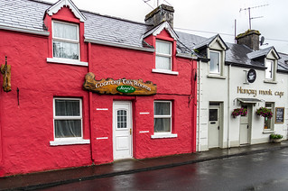 Ireland - Cong - Traditional Houses