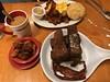 IMG_8406 (lorablong) Tags: breakfast rubyslipper canalstreet neworleans nola louisanna frenchtoast frenchtoastbatons eggs bacon